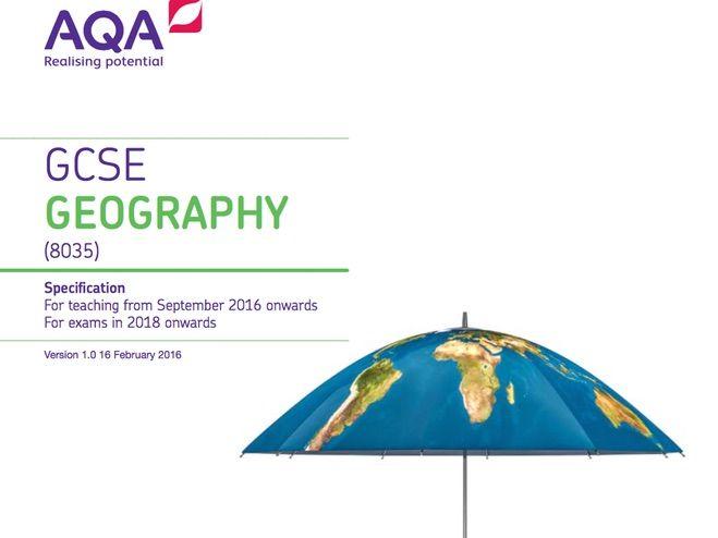 Intro to AQA Geography GCSE