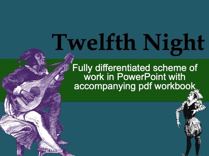 Twelfth Night Scheme of Work and PowerPoint Bundle