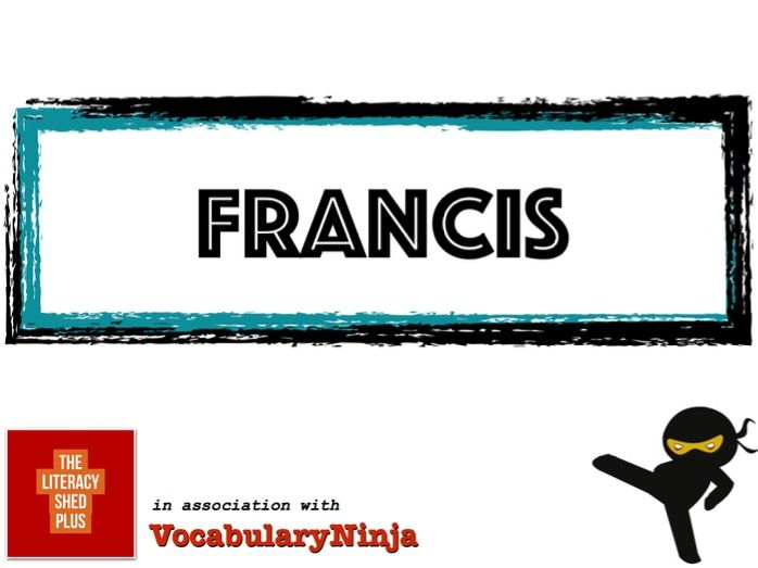Francis Vocabulary Pack