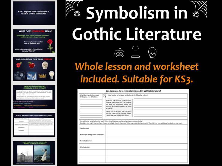 Symbolism in Gothic Literature (Analysis and Descriptive Writing)