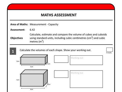 Assessing Measurement Without Levels - Years 1 to 6