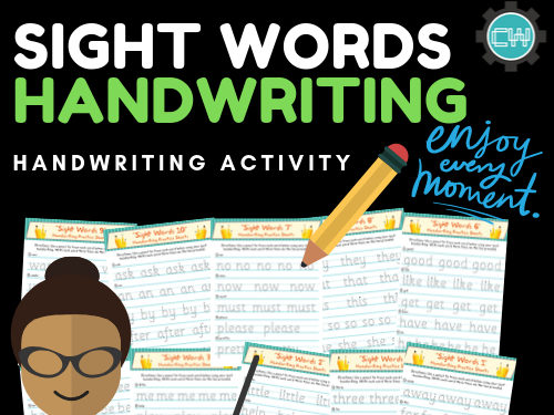 Sight Word Activity: Handwriting