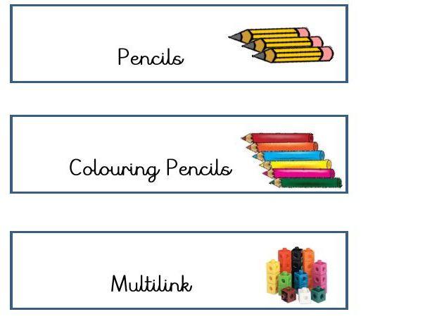 Quick Classroom Labels