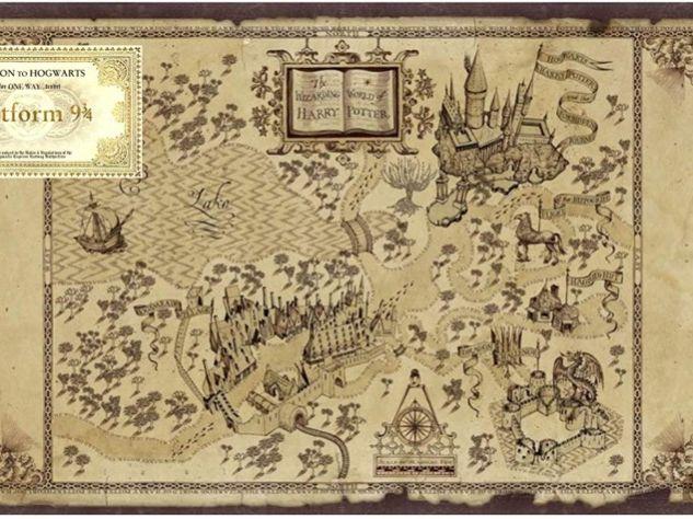 Hogwarts 4 & 6 figure grid references