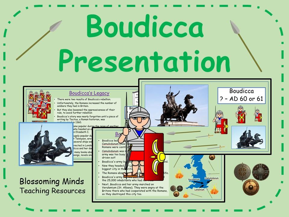 Boudicca History Presentation (Boudicea)