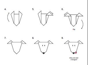 Origami Galgo