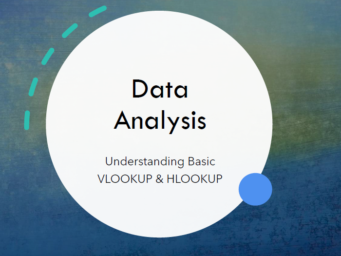 Data Analysis - Review on VLookup and HLookup