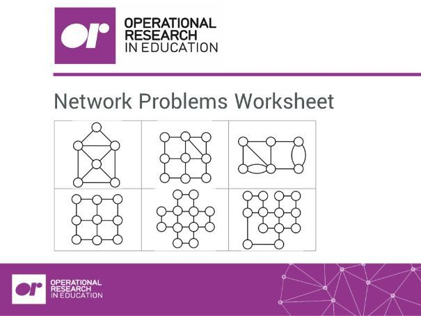 Worksheet 2: Network Problems: Paper Round
