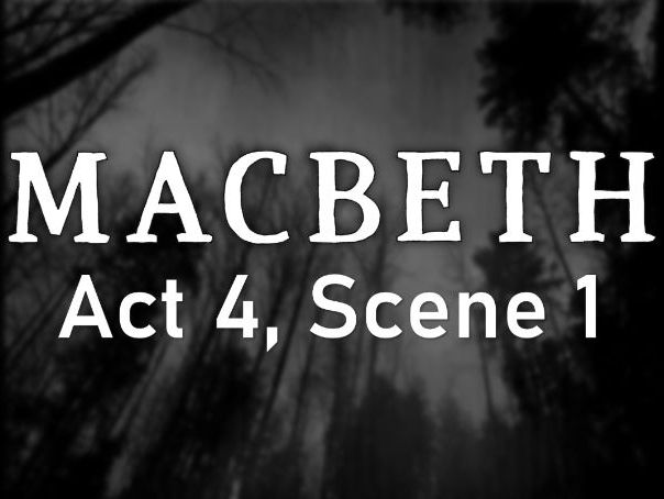 Line by Line: Macbeth (4.1)