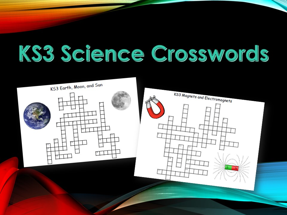 KS3 Science Crosswords with Answers