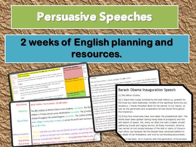 Persuasive Speech Writing         (Children's rights)