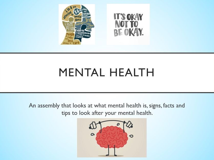 Mental Health Assembly - with follow up activity