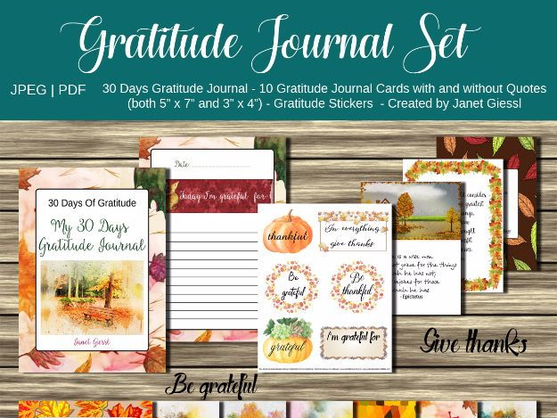 Gratitude Journal Set