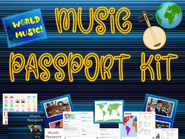 World Music Passport Kit
