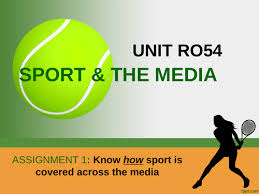 OCR Sports Studies RO54 Sport and The Media LO1-LO5