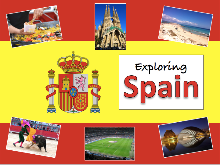Geography of Spain - KS2