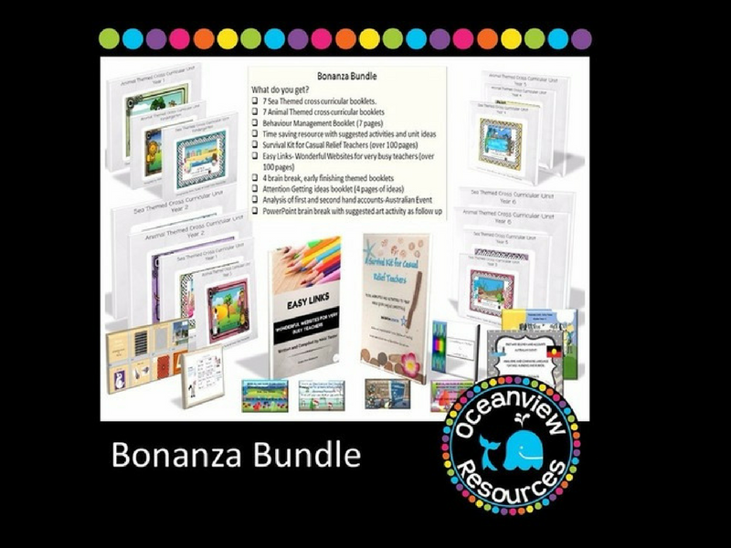 Bonanza Bundle of Resources - 30 resources in this Huge Pack