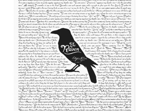 Unseen Poetry: The Raven
