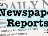 FEATURES OF A NEWSPAPER REPORT FOR SPACE YEAR 2- ENGLISH- HISTORY