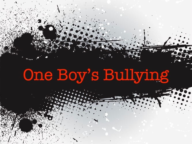 One Boy's Bullying - A Resource for Anti-Bullying Week (Upper KS2/KS3)