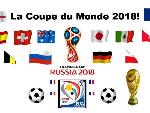 La Coupe du Monde 2018 French Resources World Cup 2018