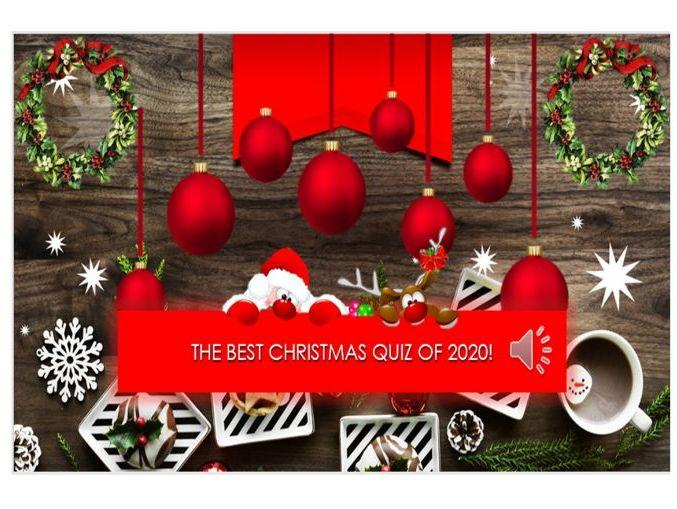 Christmas Quiz 2020!