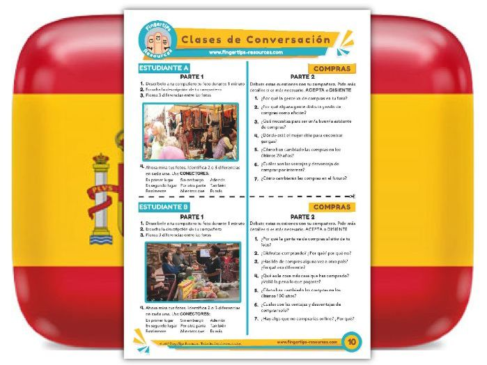 Compras - Spanish Speaking Activity