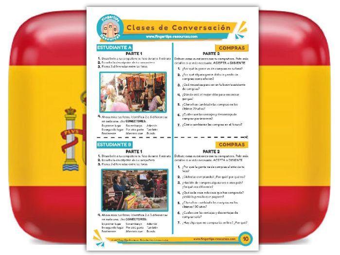 Compras - Spanish Speaking Activity