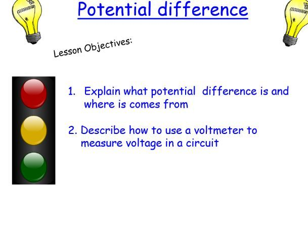 KS3 Potential difference