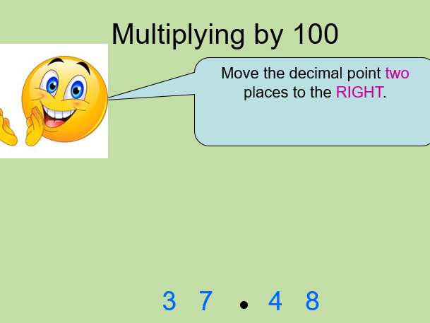 GCSE Maths/Functional Skills- Multiply and divide by powers of ten