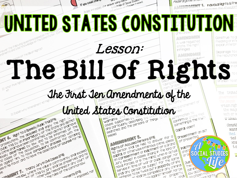 Constitution - Bill of Rights