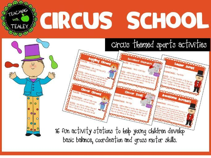 Fundamental Movement Skills Program - Circus School