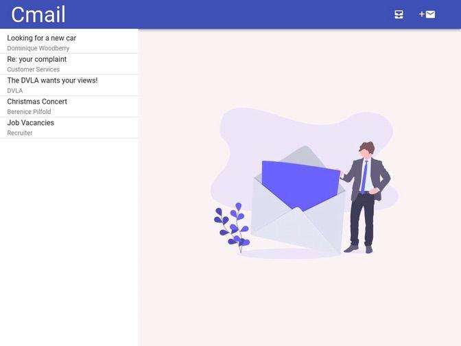 Email Writing Simulator