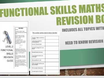 Functional Skills Maths Level 2 Revision Pack