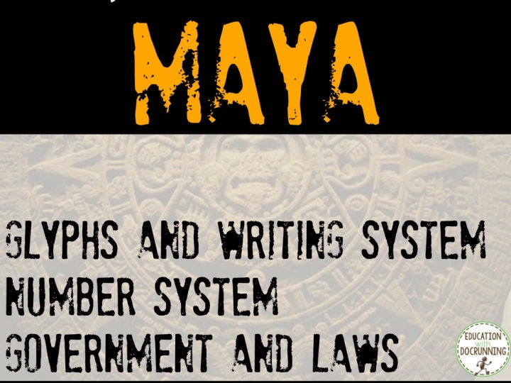 Maya Mini Bundle 8 Activities for MesoAmerica Unit
