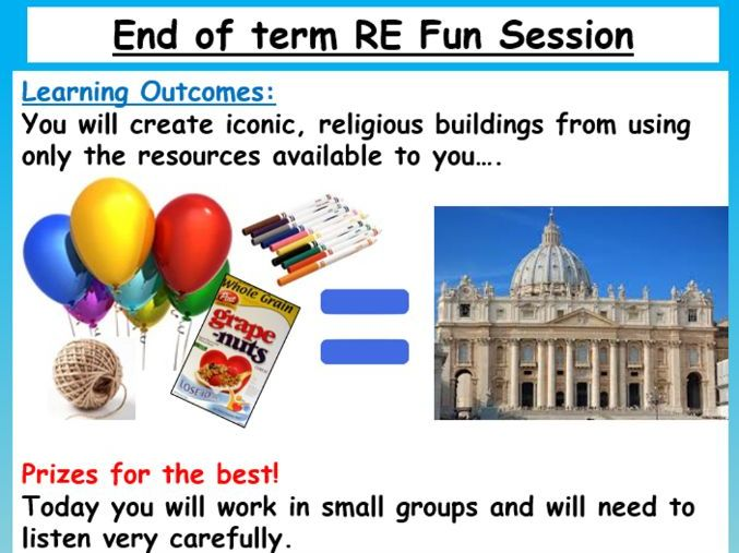 End of term RE