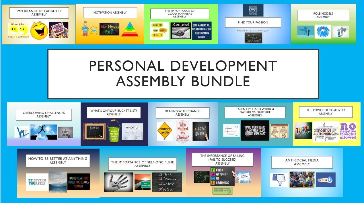 Personal Development Assembly Bundle