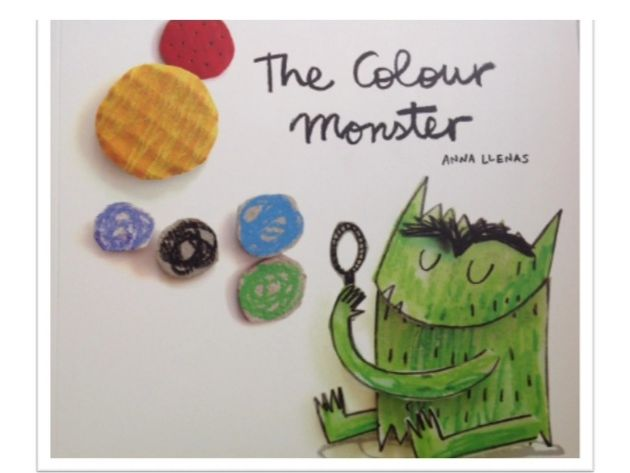 The Colour Monster - Sensory Story with voice over