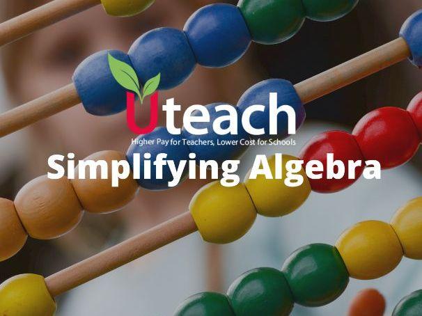 KS3 Maths | Simplifying Algebra