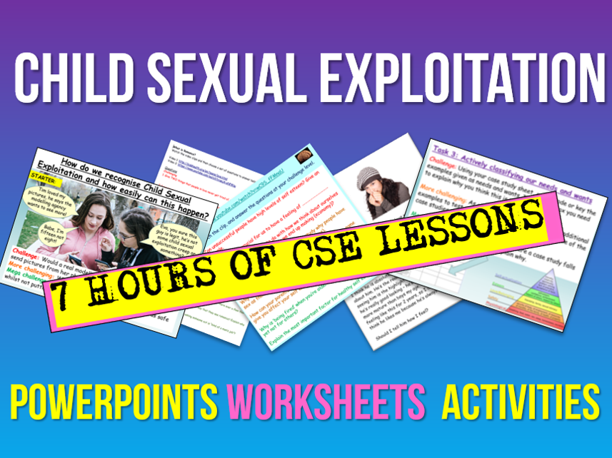 Child Sexual Exploitation - CSE