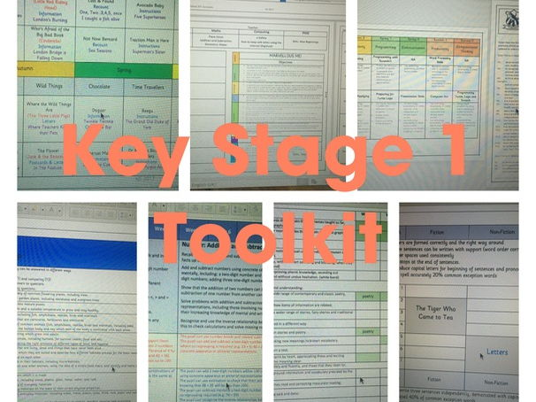 Key Stage 1: Teacher Toolkit (linked to Target Tracker)