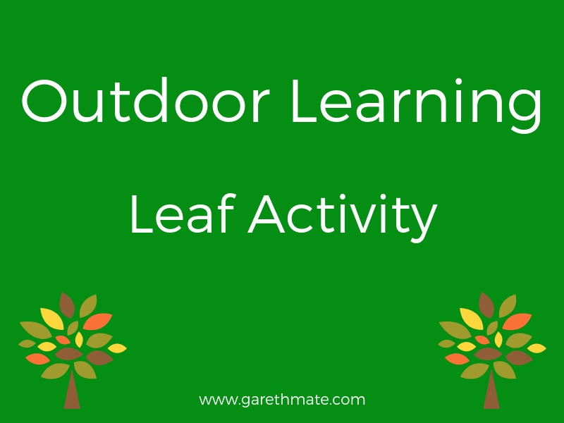 Outdoor Learning - Leaf Activity