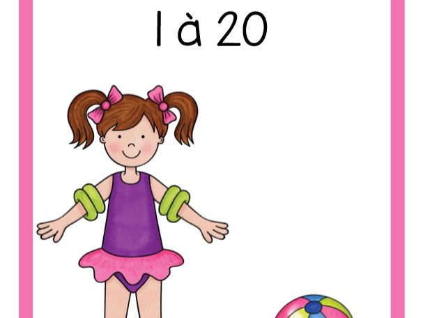 Dénombrement 1 à 20 (Été)