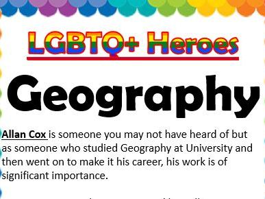 LGBTQ Heroes Collection- Humanities