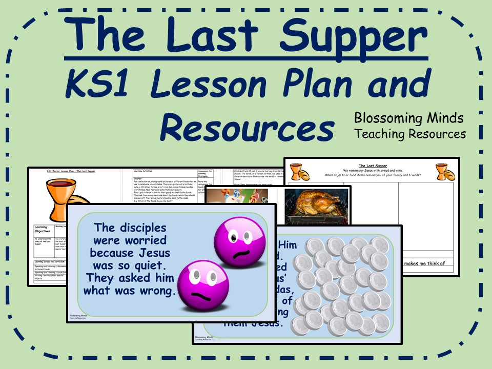 KS1 Easter RE Lesson Pack - The Last Supper