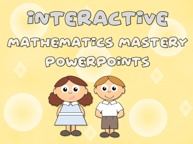 Mastery Weekly interactive Mathematics Powerpoints – Reception, counting, number recognition, double