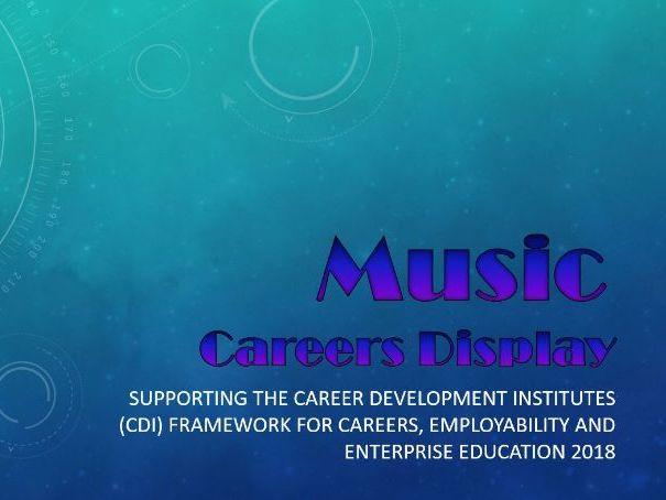 Music Careers Display