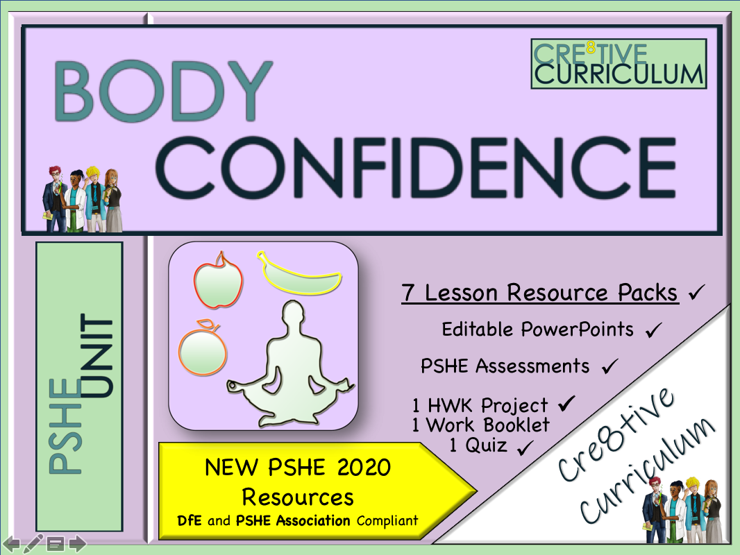 Body confidence PSHE Unit