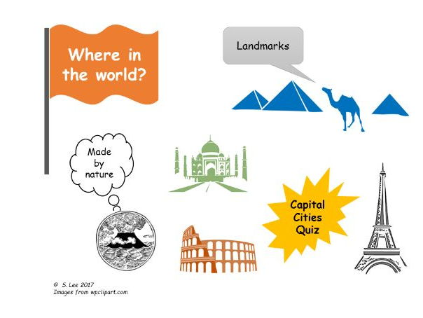 Literacy resources:  Where in the world?