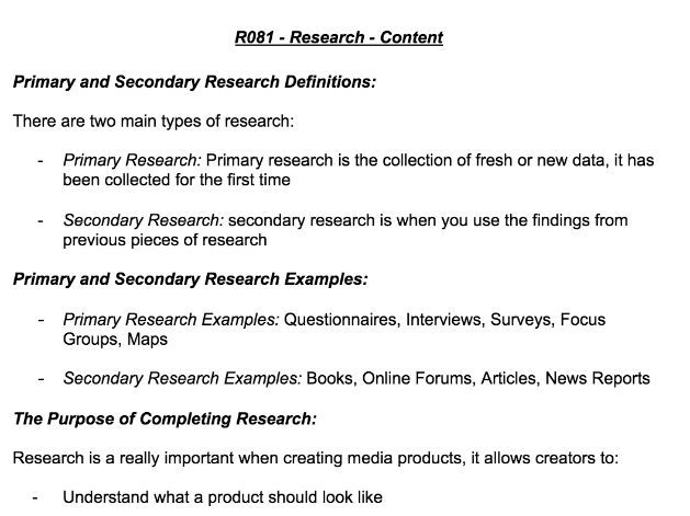 R081 - Research & Work Plans WorkSheet - Creative i-Media